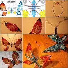 How to DIY Beautiful Beaded Butterflies