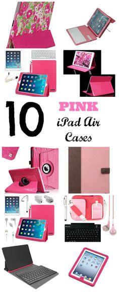 10 Cute Pink iPad Air Cases | That Tech Chick | That Tech Chick