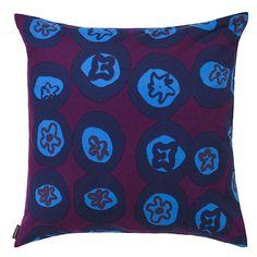 Marimekko Myllymäki Blue Throw Pillow $41.00