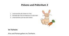 Leider muss ich immer wieder feststellen, dass das Thema Präteritum den meisten Kindern wirklich nicht leicht fällt - egal, ob deutscher Mut...