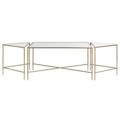 Alice Coffee Table, Set Of 3  Coffee  Cocktail Table by Arteriors