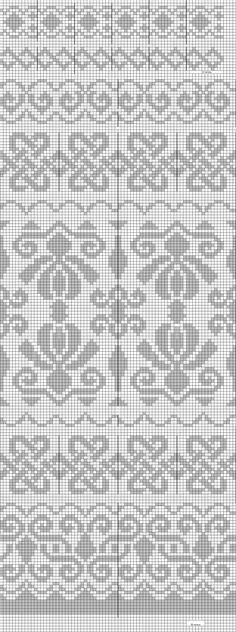 falleg mynstur þess virði að prófa/ beautiful patterns worth trying Fair Isle Knitting Patterns, Fair Isle Pattern, Knitting Charts, Knitting Stitches, Knitting Designs, Cross Stitch Borders, Cross Stitch Patterns, Cross Stitch Embroidery, Embroidery Patterns