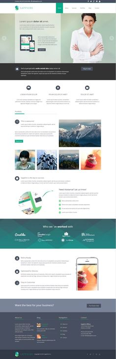 HTML5 and CSS3 coded responsive WordPress themes with stylish one page parallax design, advance page builder, full WooCommerce support. #html5wordpressthemes #responsivewordrepssthemes