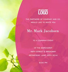 138 best corporate invitations images corporate events corporate