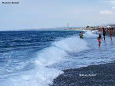 Spiaggia del borgo marinaro, un'estate a colori con un mare meraviglioso! Ph. Salvatore Martilotti
