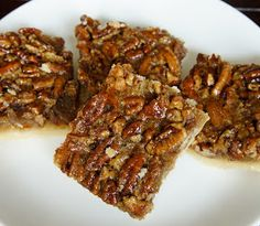 Pecan Pie Bars (thanksgiving dessert?)