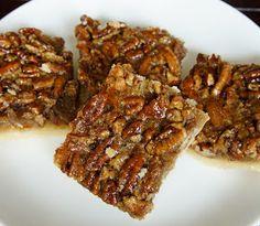 Pecan Pie Bars (thanksgiving dessert?)