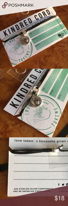 🆕 Alex And Ani Kindred Cord Love Tokens Bracelet This Alex & Ani Kindred Cord Love Tokens Bracelet is brand new with tags and never worn! This is an absolutely adorable bracelet! Makes a perfect gift for a loved one or for yourself! Charm is a sweet watering can and features .925 Sterling components and a Rafaelian finish! Snag this gem quick!! Cord is adjustable! Alex & Ani Jewelry Bracelets