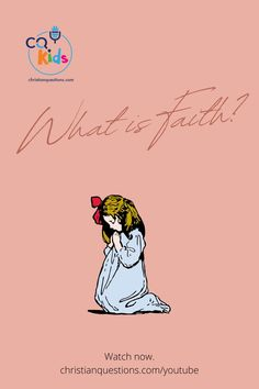 """Are you looking for ways to enhance Bible class or include more Bible based activities with your children? Watch this short, animated video to hear the answer to """"What is faith?"""" #bibleclass #christian #faith Bible Videos For Kids, Animated Gif, Animation, Activities, Christian Faith, Children, Movie Posters, Watch, Young Children"""