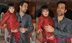 Emran Hashmi & son
