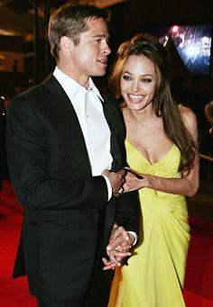 Brad Pitt and Angelina Jolie: May 2007