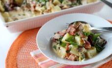 Easy Chicken and Baked Potato Casserole - Casseroles