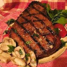 Beer and Brown Sugar Steak Marinade | Mmm... beer... A short marinade makes this a perfect mid-week meal.