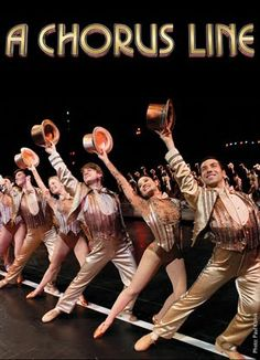 """"""" Chorus Line""""-  I actually saw the live performance of """"A Chorus Line"""" in New York City in 1981.  The Downingtown High School band and choir participated in a five day exchange program with another high school in New York. - Tom Twaddell"""