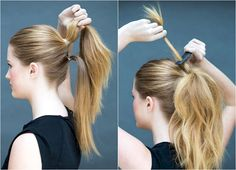 8 Easy Hairstyles You Can Do In 10 Seconds