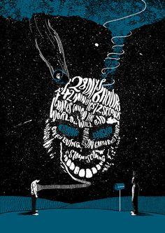 Donnie Darko - Peter Strain Illustration