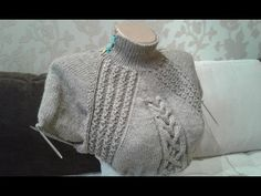 Платье спицами (по мотивам платья Akin от Norah Gaughan) - Вязание - Страна Мам Crochet Coat, Booties Crochet, Crochet Baby, Baby Knitting Patterns, Knitting Designs, Knitting Projects, Knit Vest Pattern, Cable Knit Sweater Dress, Vogue Knitting
