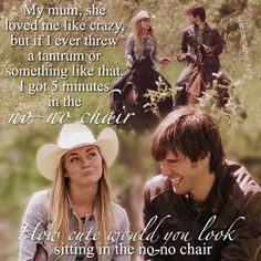 Equestrians love this show! Heartland Season 11, Amy And Ty Heartland, Heartland Quotes, Heartland Ranch, Heartland Tv Show, Heartland Actors, Heartland Characters, Ty Et Amy, Funny Watch