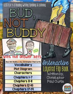 Bud, Not Buddy by Christopher Paul Curtis: Interactive Layered Flip Book ($)