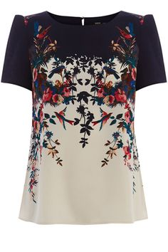 It is more than just a pretty print in fact this silky top could be one of the hardest working pieces in wardrobe  giving tailored trousers a twist between Monday and Friday and jazzing up jeans on Saturday and Sunday.