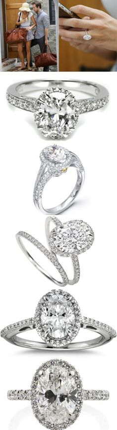 Blake Lively Engagement Ring Replica 45