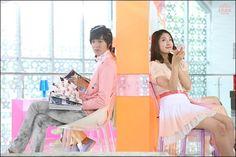 Park Shin Hye and Lee Min Ho ♥ Wow!