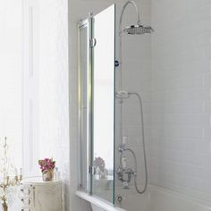 Burlington Bath Screen - The Perfect Traditional Finishing touch to your Bathroom. Save Up to On Burlington At Drench. Paneling, The Hamptons, Shower Screen, Screen Door, Access Panel, Bath Shower Screens, Bath, Safety Glass, Bath Screens