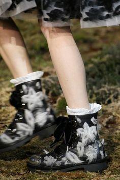 Alexander-McQueen Fall-2014 boots