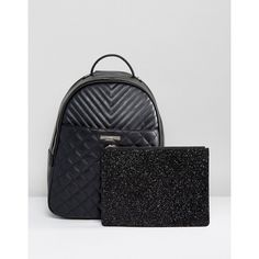 e4c297cb483a ALDO Ventea Quilted Backpack With Removeable Pouch (210 BRL) ❤ liked on  Polyvore featuring