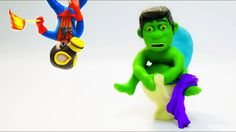 Hulk vs Spiderman Toilet Prank Superhero Animation Episodes. This Play Doh Stop Motion video is the latest in our Hulk in Real Life Superhero Videos. In this video we have Hulk and Spiderman pulling more Superhero Pranks!  If there is a Play Doh Stop Motion video you would like to see us do let us know in the comment below!   Hulk Superhero Play Doh Stop Motion   HULK VS SPIDERMAN NEEDS SHOT PLAY DOH ANIMATION MOVIES SUPERHERO PRANK STOP MOTION VIDEOS…
