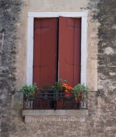 Italy Window #16 18 x 24 Giclee Canvas/Gallery Wrapped with image on sides Please allow about 3 weeks for delivery Shipping included in price-$175 http://www.riverwindgalleryart.com/jay-hill-italy.html