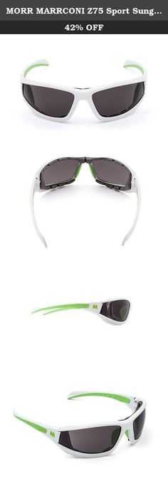 16dca5639c3 MORR MARRCONI Z75 Sport Sunglasses with Fog ARMORR Lenses and Padded Frame  for Mountain Biking