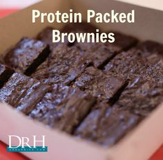 THM - S - protein packed brownies