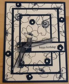 Triple Time Stamping by Scrapin4fun - Cards and Paper Crafts at Splitcoaststampers