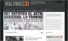 Periodismo de investigación, redes sociales y elementos multimedia se suman al documental interactivo Malvinas 30. La guerra entre argentinos y británicos es recordada hoy, cuando que se cumplen 30 años de evento.