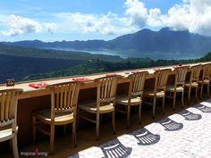 lake view restaurant, Kintamani - Bali