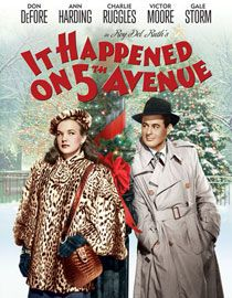 It Happened on Fifth Avenue❤️ Great little Christmas movie!