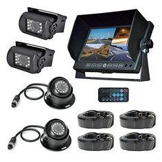"Pyle PLCMTRDVR46 Truck Bus HD 4 Camera DVR Video Recording System, Dash Cam 7"" Display Monitor - http://www.caraccessoriesonlinemarket.com/pyle-plcmtrdvr46-truck-bus-hd-4-camera-dvr-video-recording-system-dash-cam-7-display-monitor/  #Camera, #Dash, #Display, #Monitor, #PLCMTRDVR46, #Pyle, #Recording, #System, #Truck, #Video #Car-Video, #Electronics"