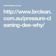 http://www.brclean.com.au/pressure-cleaning-dee-why/