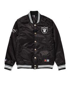 Majestic Athletic Oakland Raiders Varsity Jacket