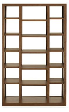 Woodwind 72h Open Back Bookcases - Bookcases & Shelves - Living - Room & Board