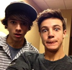 Brent Rivera and Cameron Dallas