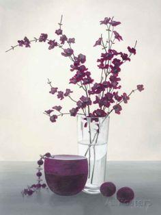 Royal Blossom I Art Print