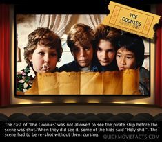 Quick Movie Facts- The Goonies