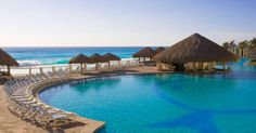 Paradisus Cancun: You'll want to be a part of this all-inclusive experience in Cancun, Mexico.#CheapCaribbean