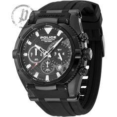 Mens Police Raptor Chronograph Watch 13092JSB/02