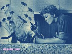 Kim Novak & Pyewacket  Bell Book and Candle (1958)