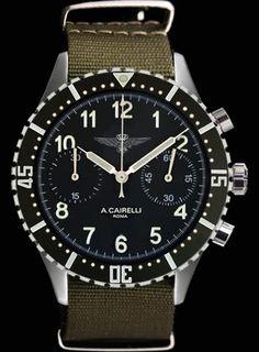 Crono Regia Aeronautica.  My next Watch..... I hope. Limited Edition