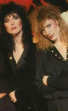 Heart's Ann and Nancy Wilson, '80s?