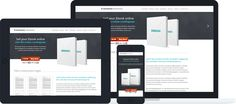 Microshop Landing Page - Download for free! Microshop is a full responsive landing page perfect for selling an ebook, softwareor app. This template is designed with Newsletter Integration, One Page Navigation, Font Awesome Icon Font, Lightbox images and much more…